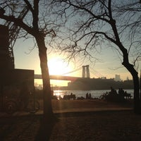 Photo taken at Grand Ferry Park by Adam S. on 11/11/2012