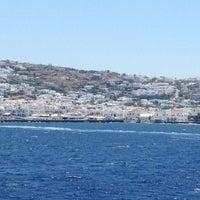 Photo taken at Mykonos Island by chiara p. on 6/17/2013