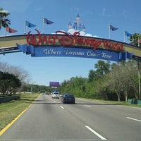 Photo taken at Walt Disney World Entrance by Luis G. on 3/27/2013