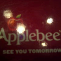 Photo taken at Applebee's by Erica S. on 10/7/2012