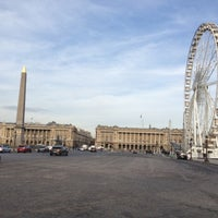 Photo taken at Place de la Concorde by Anna P. on 11/20/2012