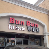 Photo taken at Bun Bun Gourmet Burger and Tea House by Seth P. on 9/22/2012