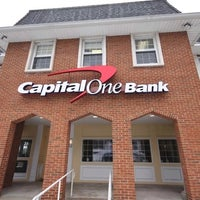 Photo taken at Capital One Bank by Rachel B. on 9/4/2015