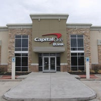 Photo taken at Capital One Bank by Rachel B. on 8/27/2015