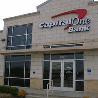 Photo taken at Capital One Bank by Rachel B. on 8/20/2015