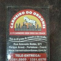 Photo taken at Carneiro do Ordones by Kamilla B. on 3/19/2013