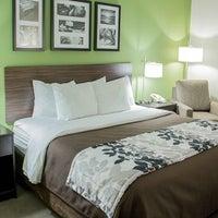 Photo taken at Sleep Inn & Suites by Yext Y. on 5/22/2016