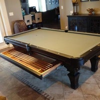 Photo Taken At Jones Brothers Pool Tables By Yext Y. On 9/2/ ...