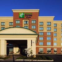 Photo taken at Holiday Inn Express & Suites Hagerstown by Yext Y. on 2/28/2017