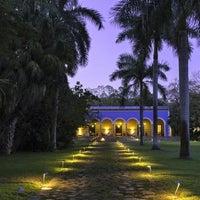 Photo taken at Hacienda Santa Rosa, a Luxury Collection Hotel, Santa Rosa by Yext Y. on 2/20/2017