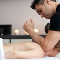 Photo taken at CityTouch Licensed Massage Therapy by Yext Y. on 9/20/2016
