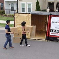 ... Photo Taken At Smartbox Moving And Storage By Yext Y. On 3/28/