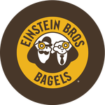 Photo taken at Einstein Bros Bagels by Yext Y. on 3/8/2018