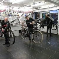 Photo taken at Bike Totaal Steven Koelewijn by Yext Y. on 12/2/2016