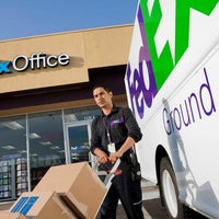 Photo taken at FedEx Office Ship Center by Yext Y. on 3/15/2018