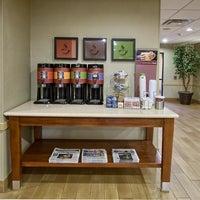 Photo taken at Hampton Inn & Suites Houston Rosenberg by Yext Y. on 1/17/2018