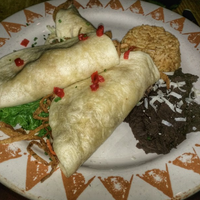 Photo taken at Santa Fe Cafe by Yext Y. on 9/15/2017