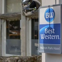 Photo taken at Best Western Walton Park Hotel by Yext Y. on 7/9/2017
