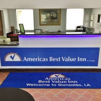 Photo taken at Americas Best Value Inn Gonzales by Yext Y. on 6/18/2017