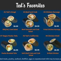 Photo taken at Ted's Sushi Burrito by Yext Y. on 10/26/2017