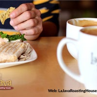 Photo taken at LaJava a roasting house by Yext Y. on 5/4/2016