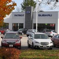 Photo taken at Patriot Subaru by Yext Y. on 3/3/2017