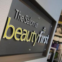 Photo taken at Beauty First Salon & Store by Yext Y. on 9/12/2017