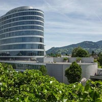 Photo taken at Four Points by Sheraton Panoramahaus Dornbirn by Yext Y. on 7/9/2017