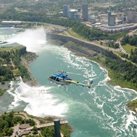 Photo taken at Niagara Helicopters by Yext Y. on 7/1/2016