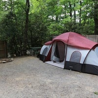 Photo taken at Linville Falls Campground by Yext Y. on 5/9/2017