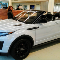 Photo taken at Land Rover Darien by Yext Y. on 2/28/2017