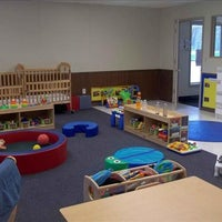Photo taken at Fridley KinderCare by Yext Y. on 10/4/2017
