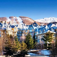 Photo taken at Le Westin Resort & Spa, Tremblant, Quebec by Yext Y. on 6/27/2017