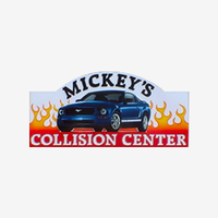 Photo taken at Mickey's Collision Center by Yext Y. on 8/12/2017