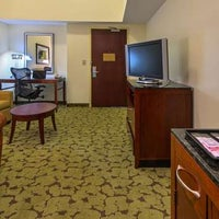 Photo taken at Hilton Garden Inn Macon / Mercer University by Yext Y. on 1/19/2018
