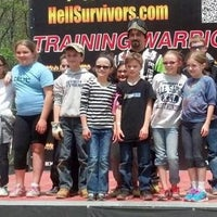 Photo taken at Hell Survivors Paintball Playfield by Yext Y. on 3/20/2017