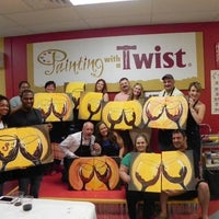 Photo taken at Painting with a Twist by Yext Y. on 6/23/2016