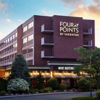 Photo taken at Four Points by Sheraton Norwood by Yext Y. on 4/30/2017