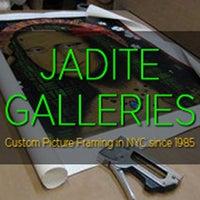 Photo taken at Jadite Galleries Custom Picture Framing by Yext Y. on 9/28/2016