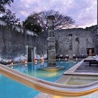 Photo taken at Hacienda Uayamon, a Luxury Collection Hotel, Uayamon by Yext Y. on 4/3/2017