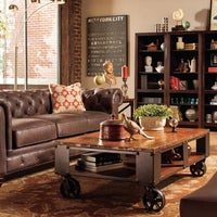 Photo taken at Raymour & Flanigan Furniture Store by Yext Y. on 9/21/2017