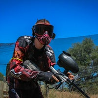 Photo taken at Pyrrhic Paintball by Yext Y. on 6/29/2016