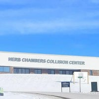 Photo taken at Herb Chambers Collision Center of Holliston by Yext Y. on 1/14/2018