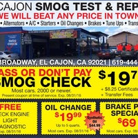 Photo taken at El Cajon Smog Test and Repair by Yext Y. on 7/14/2016