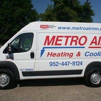 Photo taken at Metro Air Heating & Cooling by Yext Y. on 8/29/2016