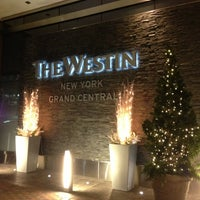 Photo taken at The Westin New York Grand Central by Jamie W. on 12/3/2012