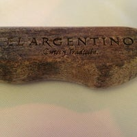 Photo taken at El Argentino by Sergio O. on 1/16/2013