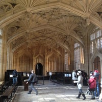 Photo taken at Bodleian Library by Fernanda B. on 10/14/2012