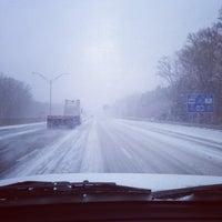 Photo taken at Interstate 85 by Akihiko S. on 2/12/2014
