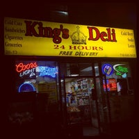 Photo taken at King's Deli by Randolph H. on 5/8/2015